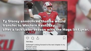 Ty Storey transfer to Western Kentucky