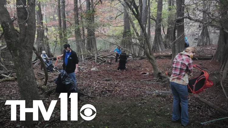 Massive Cadron Creek cleanup bringing in volunteers from across US
