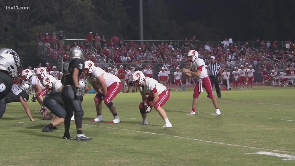Harding Academy defeats Riverview 38-7