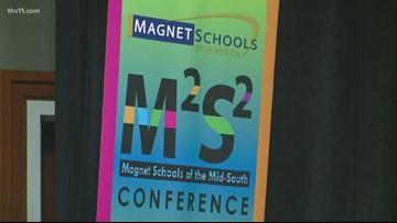 Little Rock shows off Magnet schools program