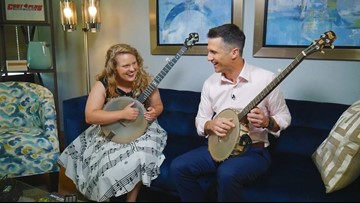16-year-old national banjo champion hits notes with people across the country