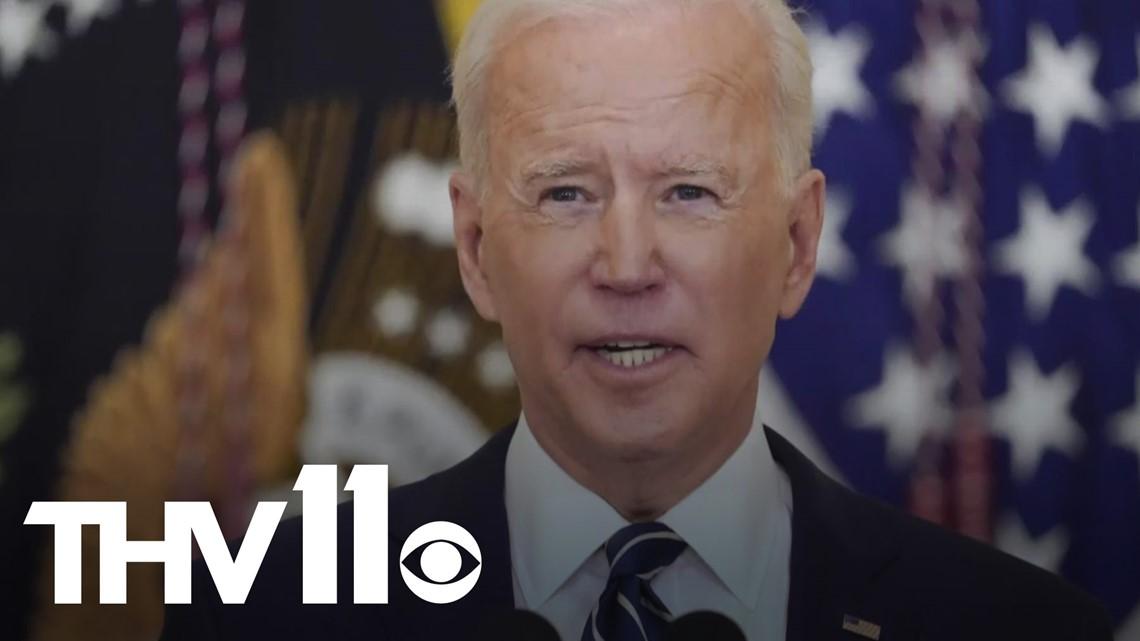 Pres. Biden's first 100 days in office