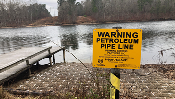 Officials concerned as company tests oil pipeline that ruptured in 2013