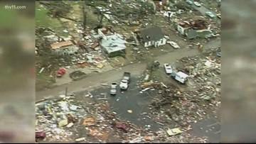 March 1, 1997 - Tornadoes kill 25 in Arkansas