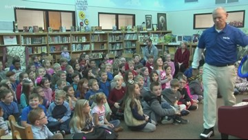 Reading Roadtrip | Craig reads to Eastside and Conway Christian students
