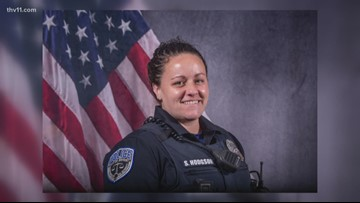 Bryant police officer shot in line of duty expected to recover, still in ICU