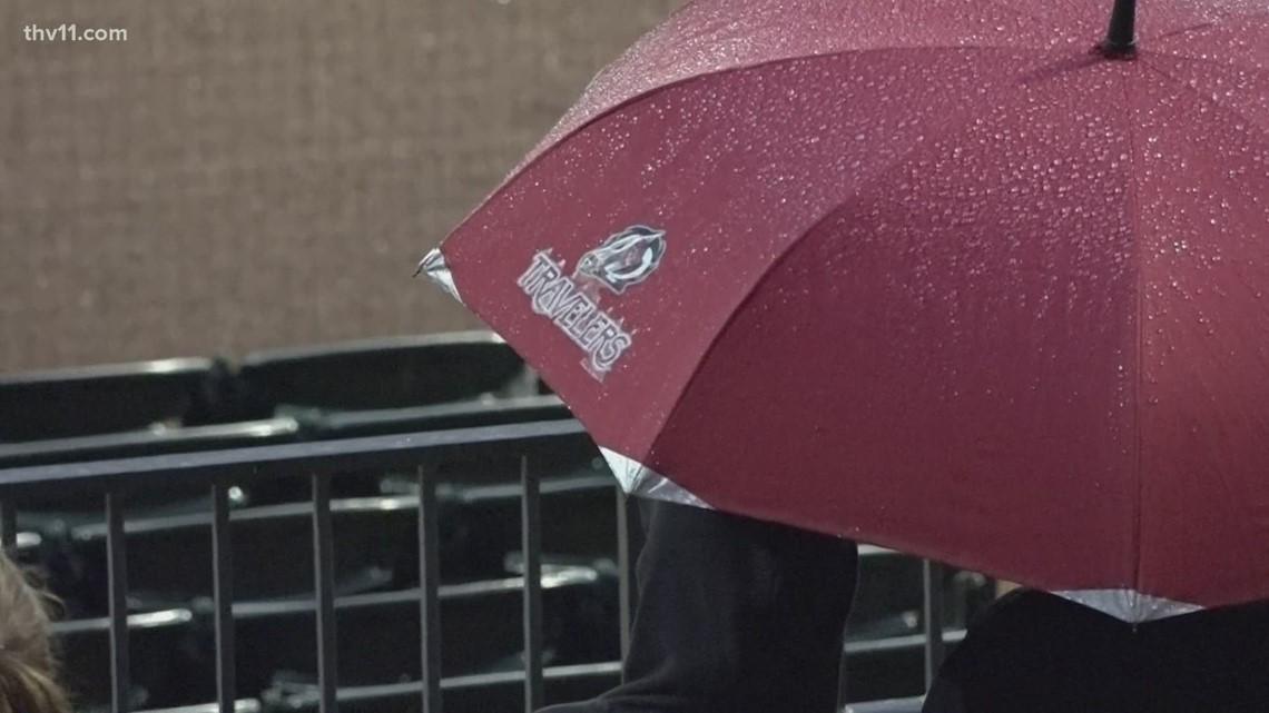 Travelers win rain-shortened game against Naturals