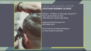New barbershop coming to North Little Rock, raising money for Lucie's Place