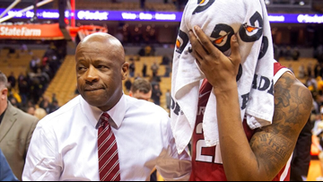 Razorback basketball players respond to head coach Mike Anderson's dismissal
