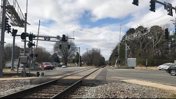 Conway drivers raise concern about 'dangerous' railroad crossing