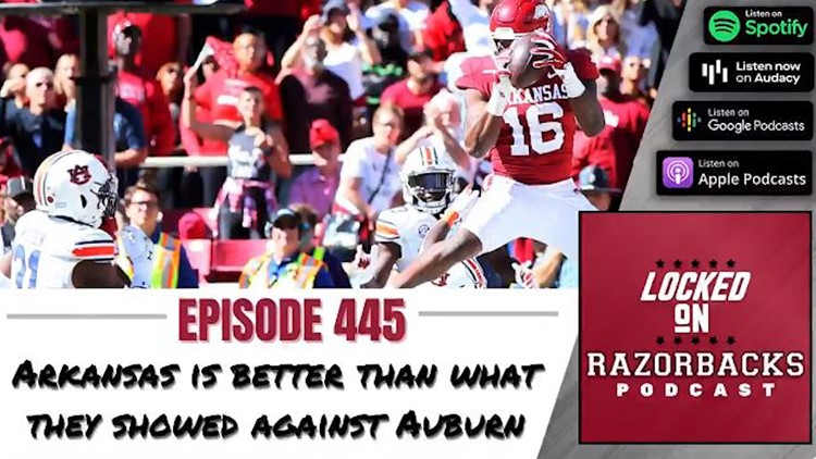 Arkansas is better than what they showed against Auburn
