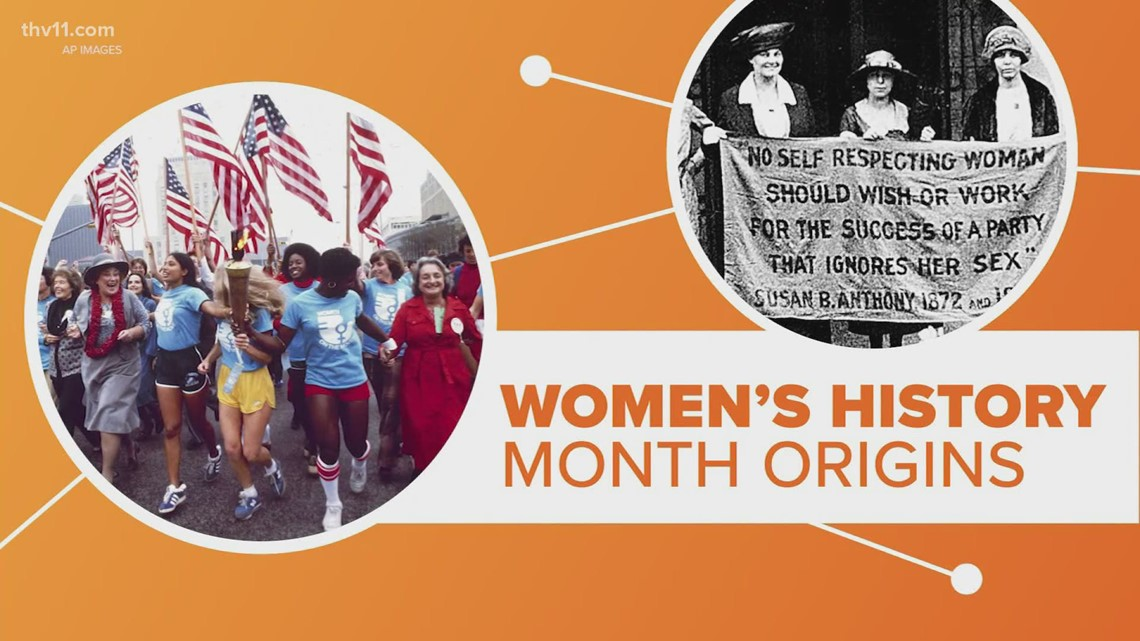 March in women's history month | Connect the Dots