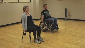 Wounded veteran uses fitness to help others