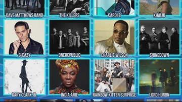 Lineup released for the 2019 Beale Street Music Festival