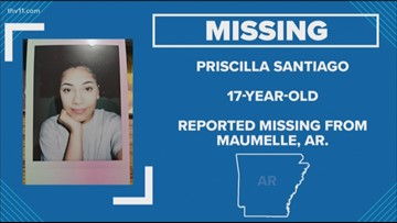 THV11 Mission Home: Missing 17-year-old Maumelle girl