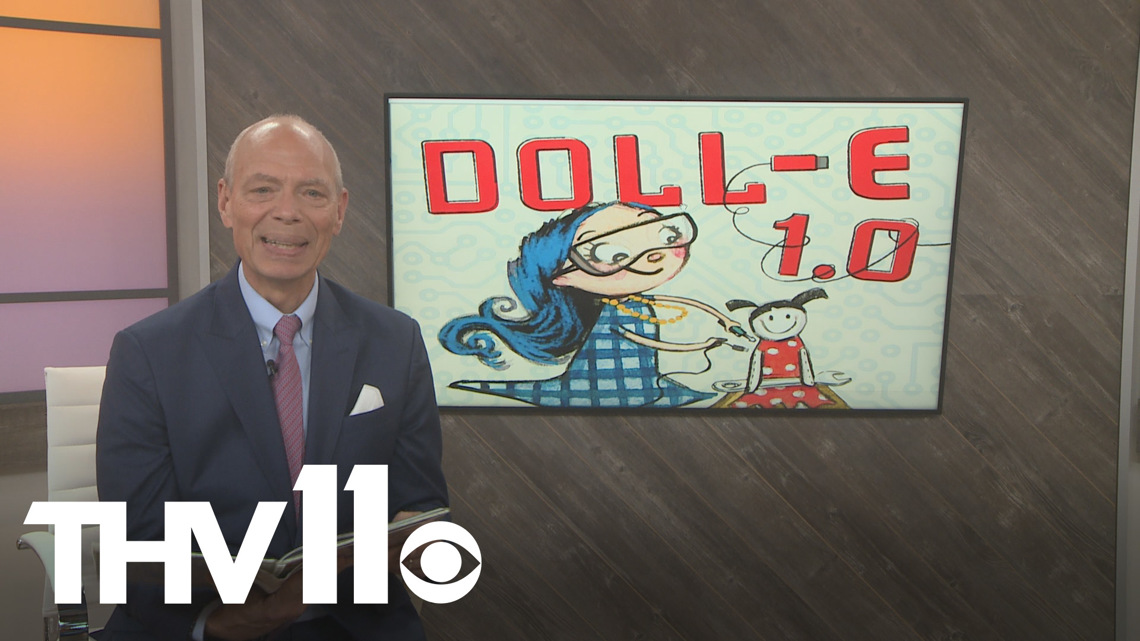 Craig O'Neill reads Doll-E 1.0 by Shanda McCloskey