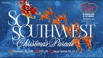 Get in the Christmas spirit with the Southwest LR Christmas Parade