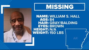 Silver alert inactivated for 84-year-old William S. Hall