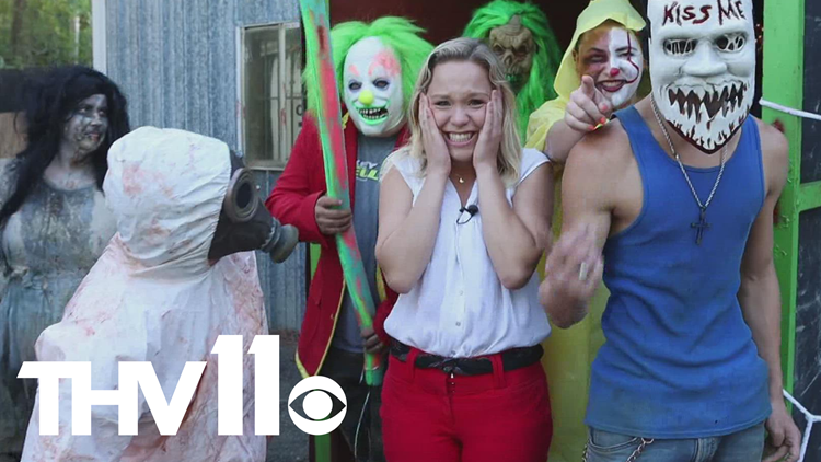 We sent our newest reporter to a haunted house because why not
