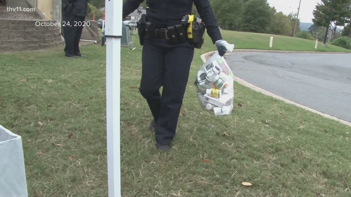 39,000 pounds of drugs collected on Arkansas Drug Take Back Day