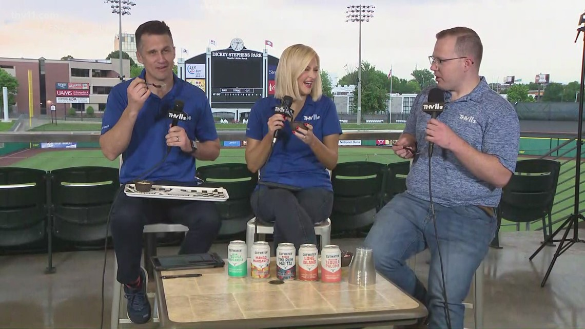 You'll definitely want to try the cheesecake at Dickey Stephens Park
