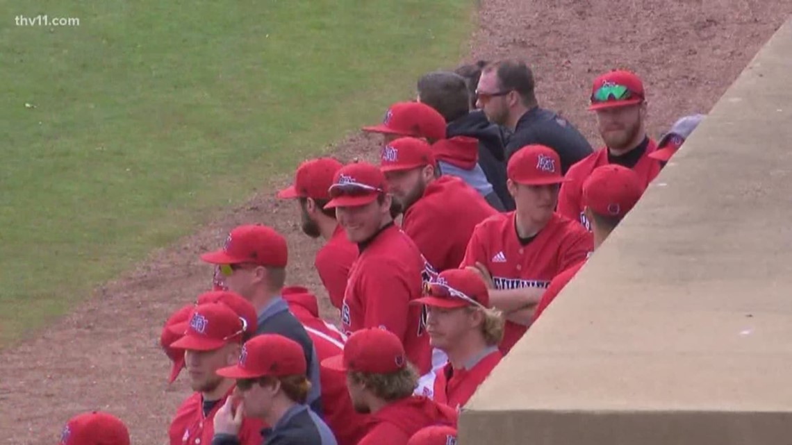 Arkansas State claims series with 8-4 Sunday win over SFA
