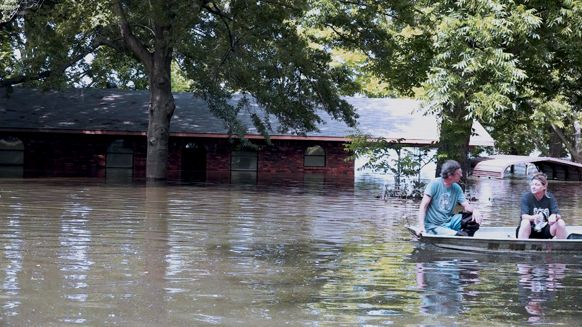 Pine Bluff homes still have floodwater up to ceilings days after river crests