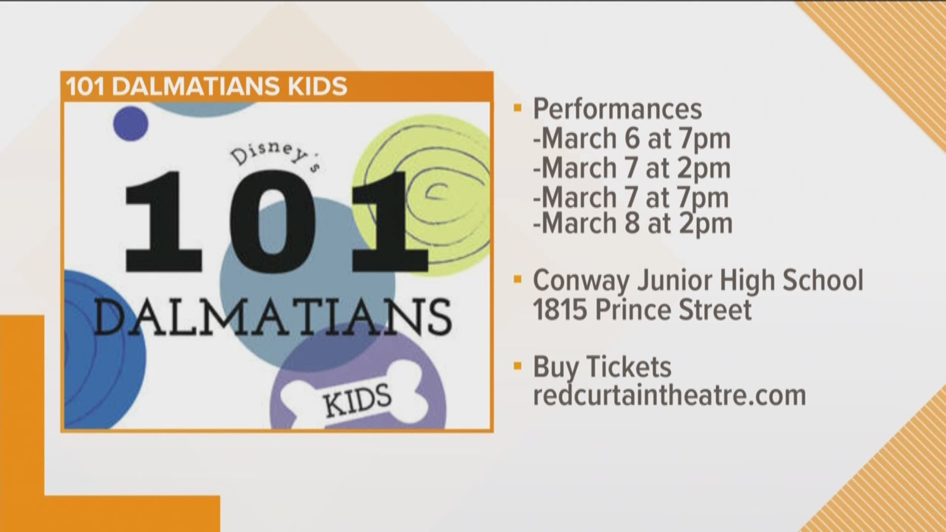 Red Curtain Theatre Live Production Of Disney S 101 Dalmatians Thv11 Com