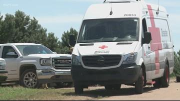 Red Cross begins sending emergency response vehicles to flood victims