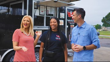 A little food truck is serving big portions with Cajun flair!