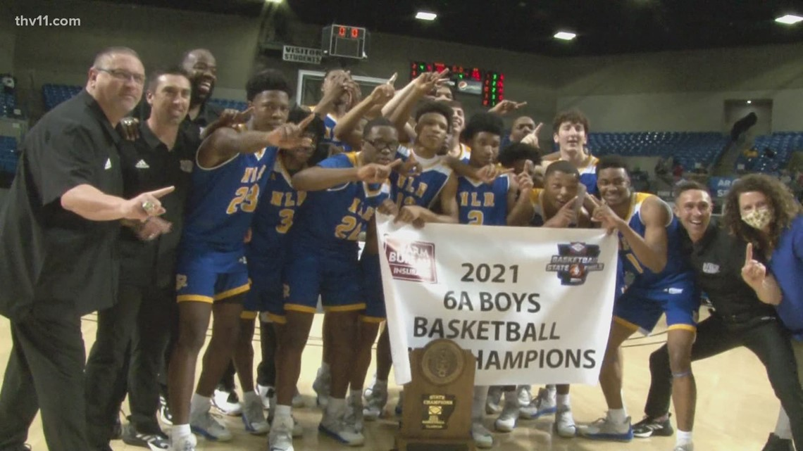 Smith and Ware lead NLR to 6A title over Central