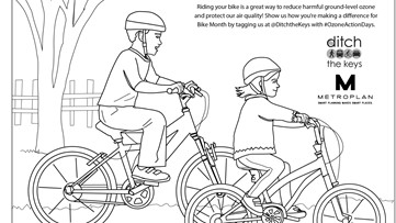 Ditch the keys with a bike-themed scavenger hunt