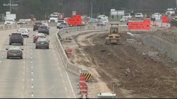 ARDOT urging drivers to slow down in I-630 construction zone, months of work yet to be done on interstate