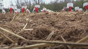 Veterans cemetery renovation causes concerns as gravesites are left exposed