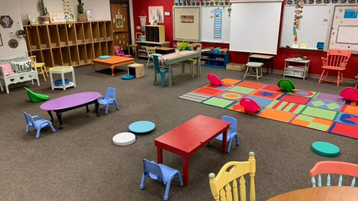 How Arkansas Teachers Are Setting Up Socially Distant Classrooms Thv11 Com