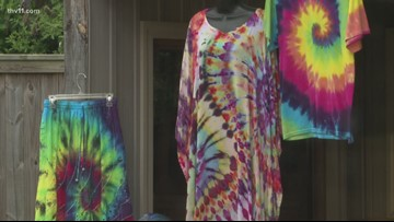 Make your own tye-dye shirts this summer, part 1