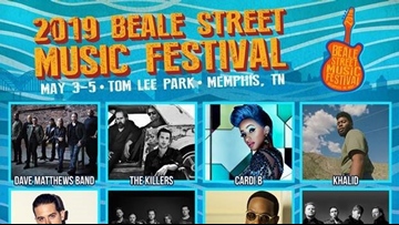 Official lineup released for the 43rd Annual Beale Street Music Festival
