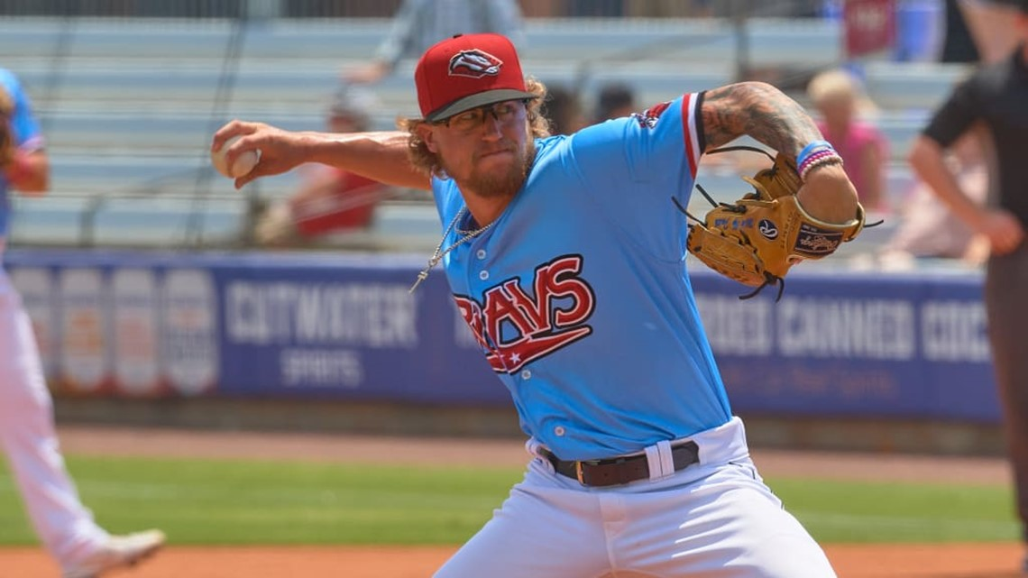 Travs top Drillers, nearly throw no-no