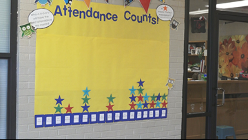 Arkansas school offers money to improve attendance count