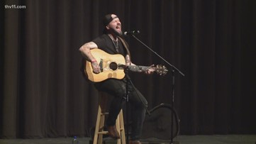 Jared Blake shares story of recovery