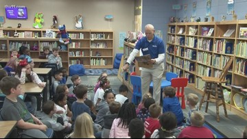 Reading Roadtrip: Conway's Julia Lee Moore Elementary