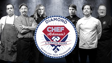 Six Arkansas chefs to compete for Diamond Chef title