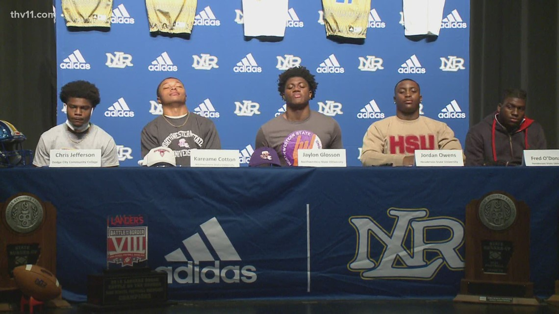 5 NLR Charging Wildcats sign on National Signing Day