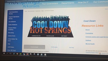 Hot Springs police launch website in wake of violent summer
