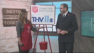Salvation Army kicks off Red Kettle Campaign this week