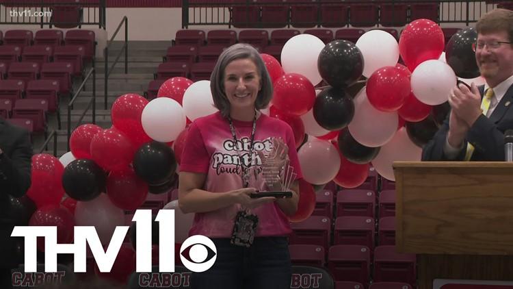Cabot educator named 'Arkansas Teacher of the Year' for 2022