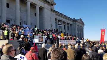 Thousands of Arkansans gathered for the 41st Annual Arkansas March for Life in Little Rock