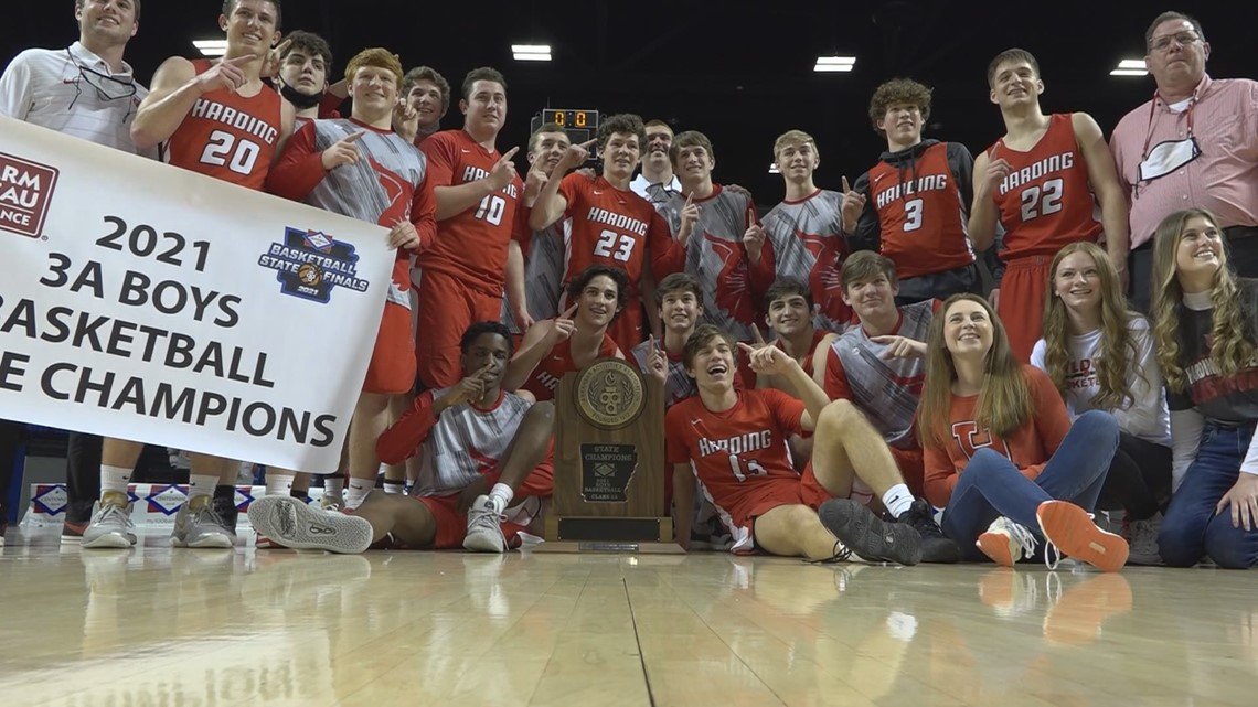 Late run leads Harding Academy to 3A boys title
