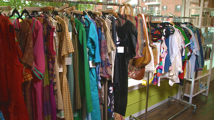 Studies show vintage shopping could be better for the environment