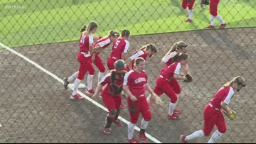 Cabot softball rolls past Rogers